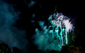 Christmas in Cooroy fireworks