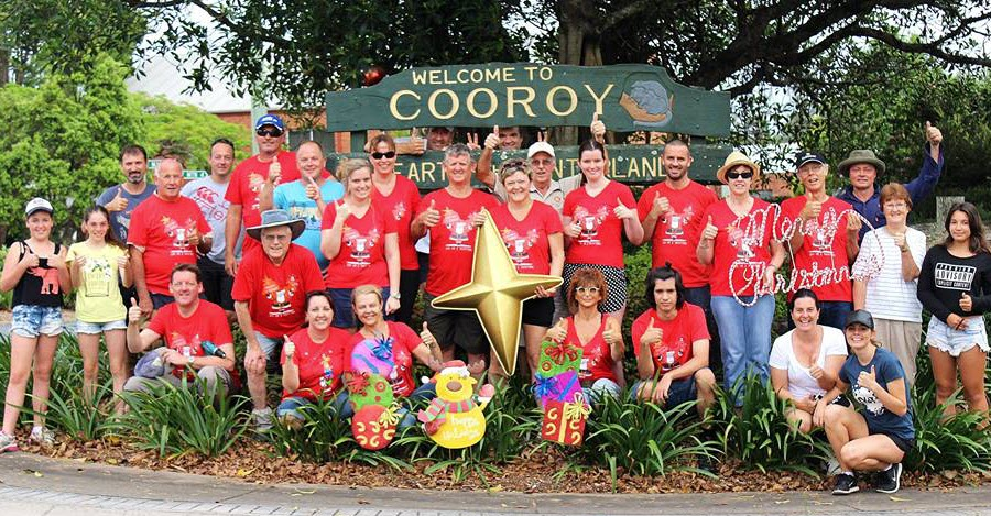 Christmas in Cooroy Volunteer Elves