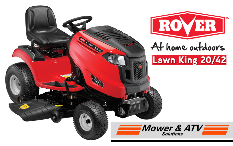 mower atv rover lawn king ride on