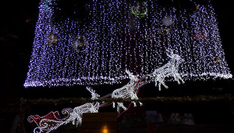 Christmas in Cooroy Lights up on Friday 4th December